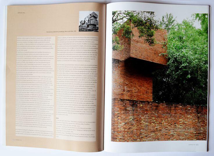 Ladrillos. Estructura, Superficie, Masa_Casa de la Cruz_Rafael Iglesias_2001