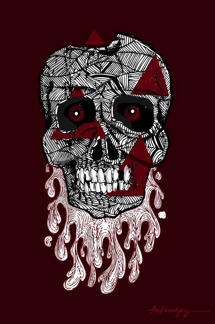 cum skull