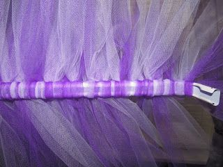 Easy No Sew Tutu Tulle Valance Tutorial