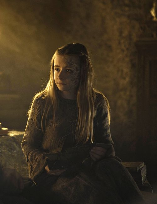 Shireen Baratheon, daughter of Stannis Baratheon - Game of Thrones