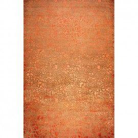 Ковер оранжевого оттенка Alhambra