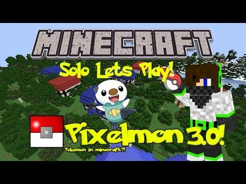 Pixelmon 3.0 Mod Minecraft! Episode 1 - LETS DO THIS! Minecraft Pixelmon...: