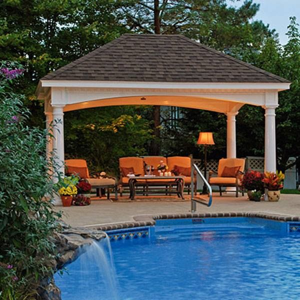 Cabana Pool House Designs Plan: Best 25+ Backyard Pavilion Ideas On Pinterest