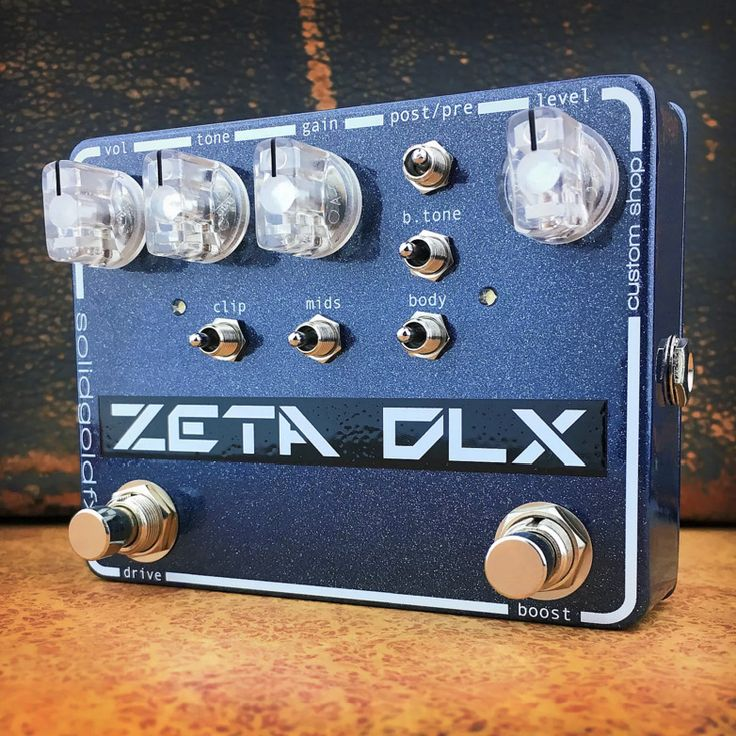 Zeta DLX - Custom Shop Nightshade Metallic