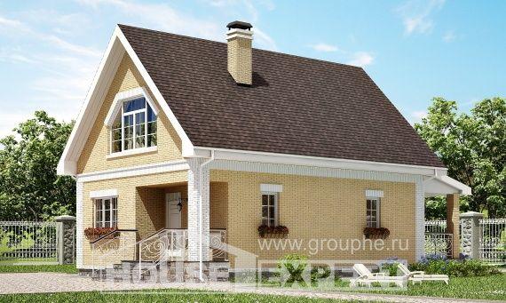 Проекты домов из керамзитобетона с мансардой купить бетон с доставкой цена за куб