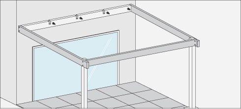 H galo usted mismo c mo construir un cobertizo de for Cobertizo de jardin de techo plano de pvc