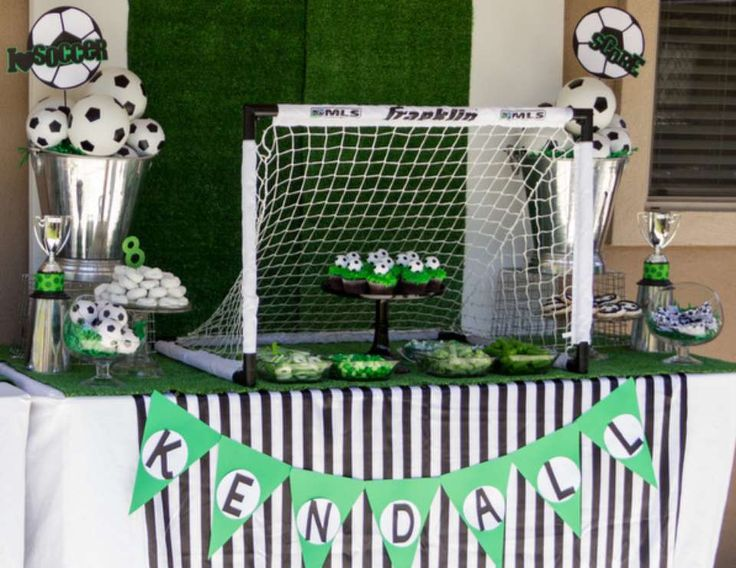 """soccer party / Birthday """"Kendall's Soccer Party"""" 
