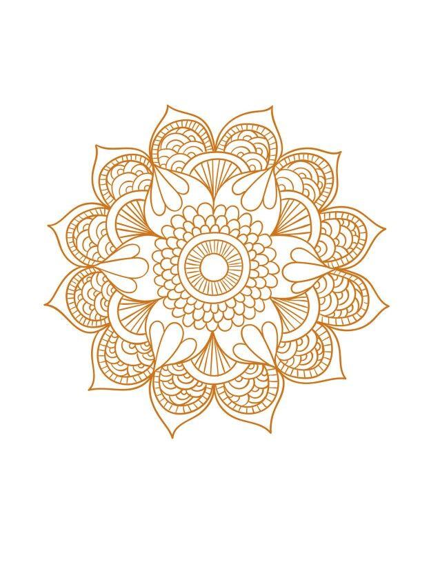 #mandala #doodle #filigrana