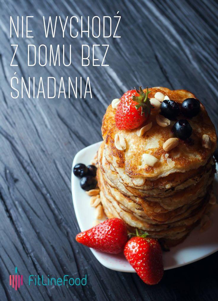 Nie wychodź z domu bez śniadania. / Don't leave the house without a breakfast.