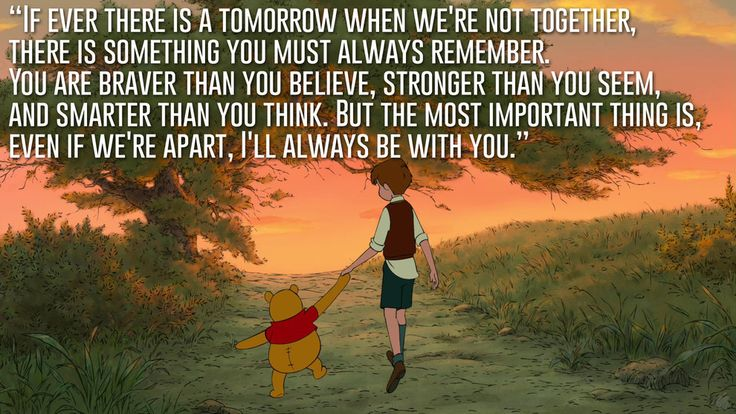 Christopher Robin, Winnie the Pooh | 23 Profound Disney Quotes That Will Actually Change Your Life