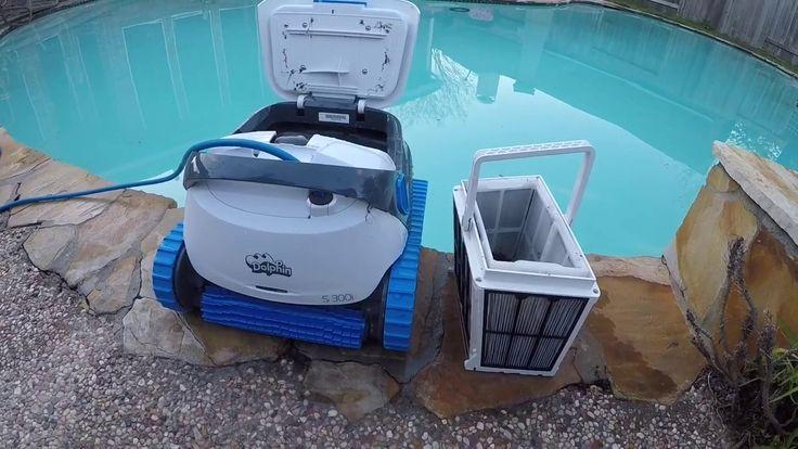 dolphin s 300 i havuz robotu