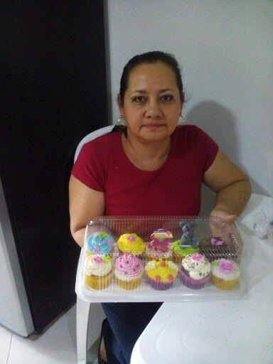 Hermosos cupcakes