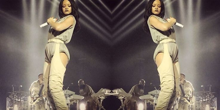 Rihanna's 'Anti' Tour Boots Took 3 Months to Make http://ift.tt/1LvGoit #ELLE #Fashion