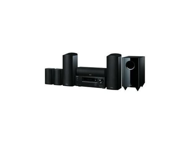The Onkyo HT-S5805(B) aims to take surround sound to new heights with upward firing speakers and Dolby Atmos support that launch the sound above your head. Sound is central to the Onkyo ethos so you'll find no Blu-ray in the chunky receiver. - Which?