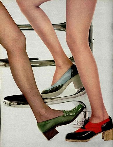 122 Best 1970s Shoes Amp Hosiery Images On Pinterest