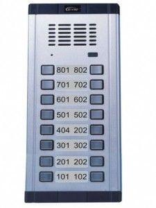 Panel zewnętrzyny GENWAY 16 przycisków ORNO WL-02NE(2x8) - ORNO POLSKA