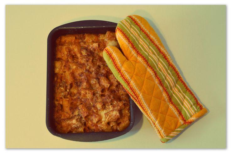 Pasta al forno con fagioli e zucca #pasta #pastalaforno #fagioli #zucca #ricetta #pinalapeppina
