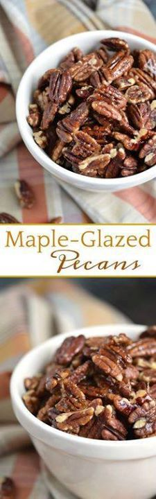 These Maple-Glazed P These Maple-Glazed Pecans are proof that...  These Maple-Glazed P These Maple-Glazed Pecans are proof that sweet salty and crunchy snacks can still be healthy! COPYRIGHT  2017 COOKING WITH CURLS #paleo #whole30 #snacks #healthy Recipe : http://ift.tt/1hGiZgA And @ItsNutella  http://ift.tt/2v8iUYW