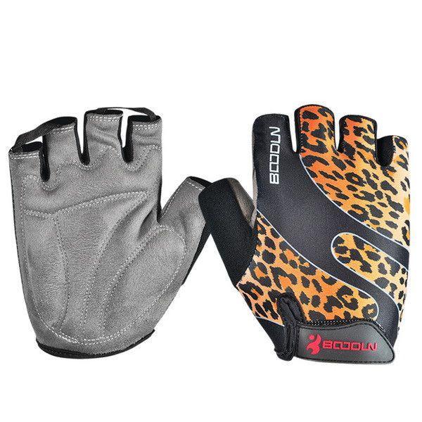 Gym Gloves Men Women Body Building Fingerless Fitness Half Glove Anti Slip Weight Lifting Sport Training for Women Girl Children