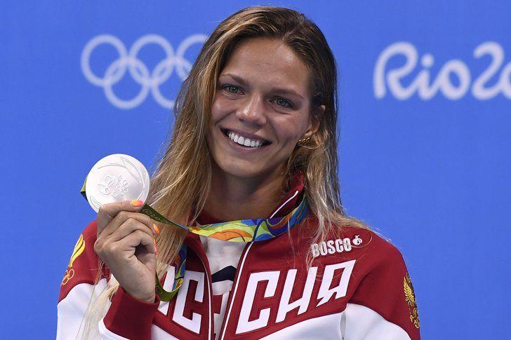 Pin for Later: Die Olympioniken haben die Nägel schön Yulia Efimova, Schwimmen, Russland