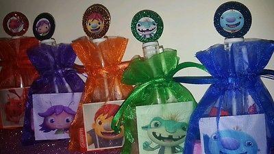 12 Wallykazam Birthday Party Favor Bags Stickers Bubbles Goody Preschool 2nd 3rd
