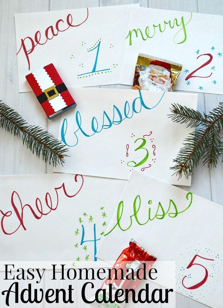Easy Diy Calendar Ideas : Best homemade calendar ideas on pinterest