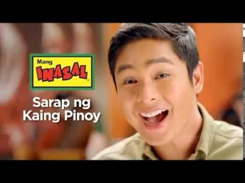 This is the handsome Coco Martin endorsing on Mang Inasal, which is a Filipino restaurant serving good Filipino foods, especially my favourite, chicken inasal. Indeed, Coco is a good commercial model. #CocoMartin #IdolongMasa #MangInasal #SarapngKaingPinoy