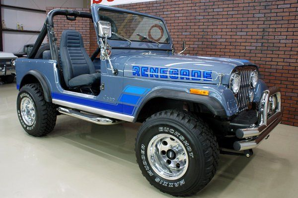 Jeep CJ7. I think I want my CJ to look like this, minus some of the chrome.