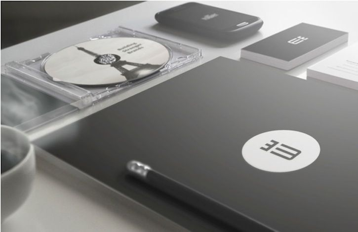 Creative Black and White Brand Identity Designs for Inspiration