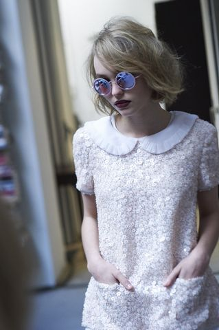 Lily-Rose Deep for Chanel Eyewear campaign