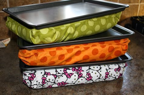 Hobby Mommy Creations: DIY Cookie Sheet Lap Desk - Part 1 Making The Lap Desk