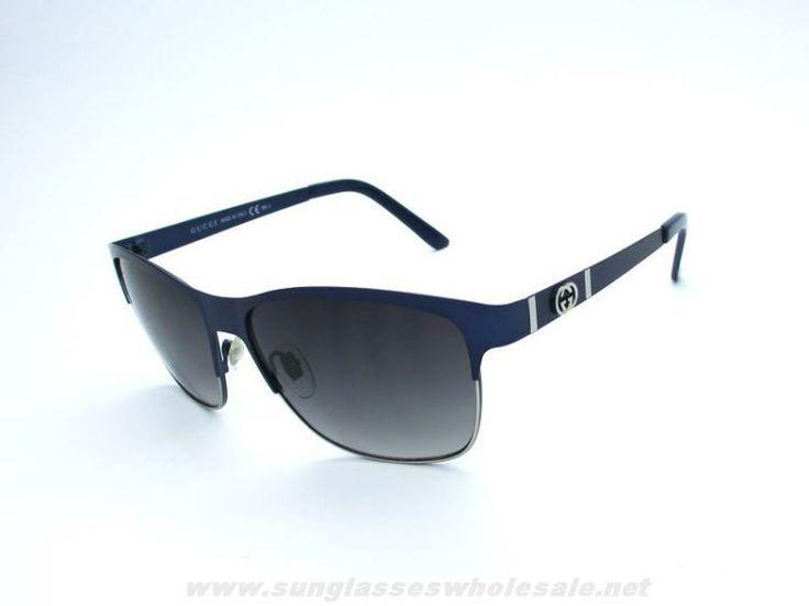 black friday oakley sunglasses 8z2e  Authentic Gucci New GG 4232 S Blue Frame Grey Lens Sunglasses For Black  Friday