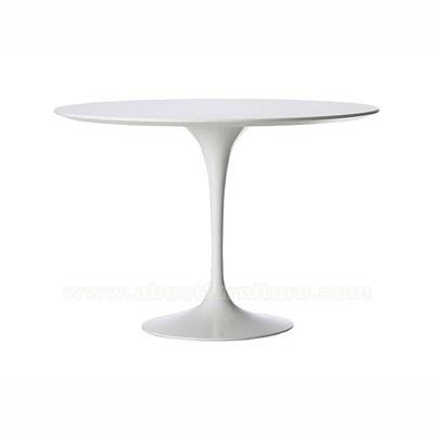 Eero Saarinen Tulip Table, Design Eetkamer tafel Wit glasvezel blad ...