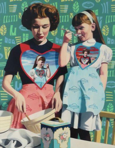 Jon Bentley - check out the fine art - esp. Peter & Jane stuff