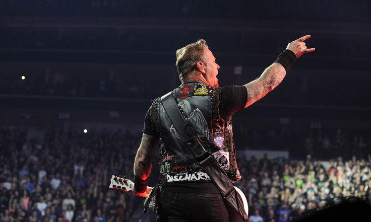 Spectacle de Metallica au Centre Vidéotron.