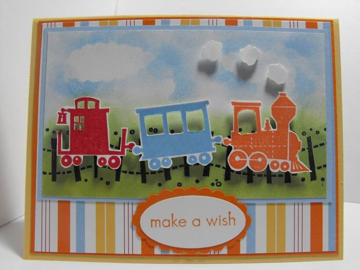 141 best Cards Trains images – Train Birthday Cards