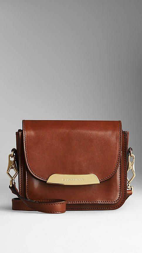 Bridle Leather Crossbody Bag | Burberry