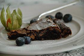 """ganske enkelt: Himmelsk """"mislykket"""" sjokoladekake (Glutenfri)"""