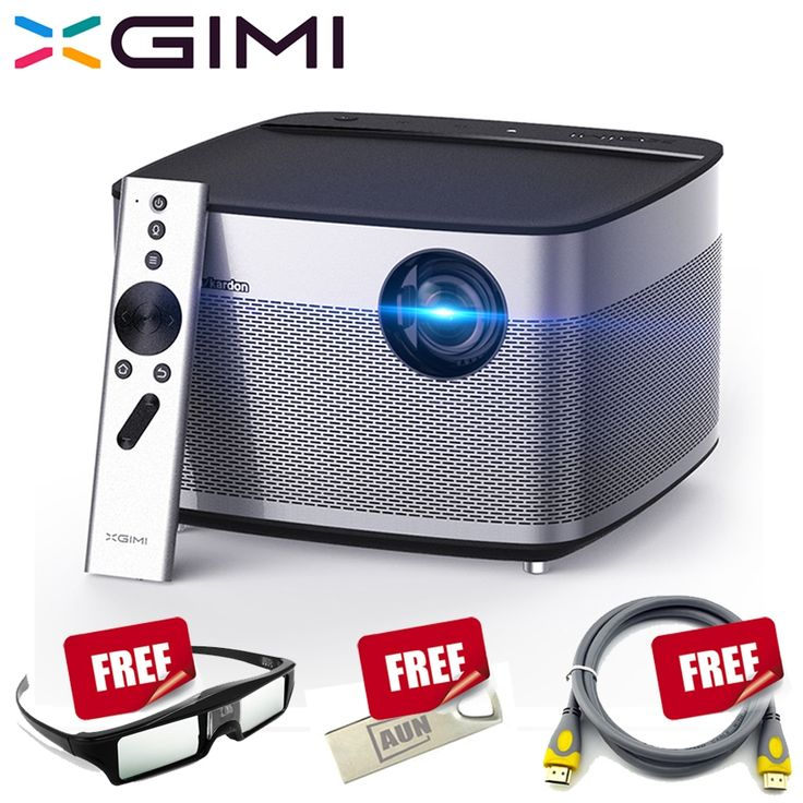 (799.00$)  Watch now  - XGIMI H1 Full HD Projector, Free 16G U Disk, 1pc Active 3D Glasses. Support 1080p, 4K, 2K, 3D Projector for Home Theater,Lecture