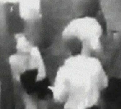At about a minute past midnight, a male person is seen to approach Jane and there is a brief interaction between the two before the security camera recording changes views to another part of the hotel. 28 seconds later the man has left the view of cctv Jane remains for 2 1/2 minutes before she also disappears from view.