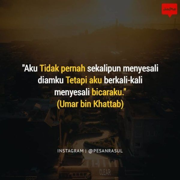 Gambar Kata Kata Bijak Kehidupan Terbaru Islamic Quotes Kata