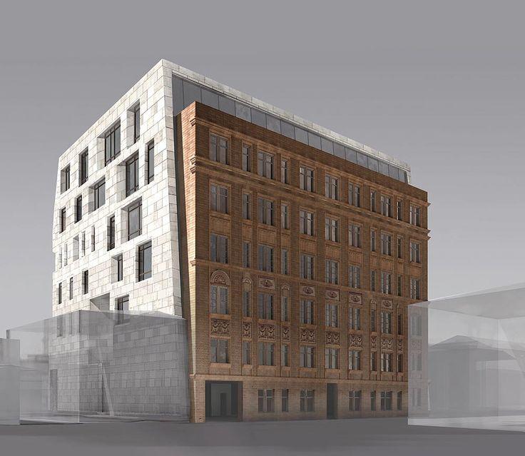 Реконструкция жилого дома на Малой Никитской улице : Sergey Skuratov Architects