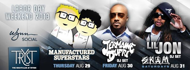 Tryst Las Vegas featuring Manufactured Superstars, Jermaine Dupri, and Lil Jon!