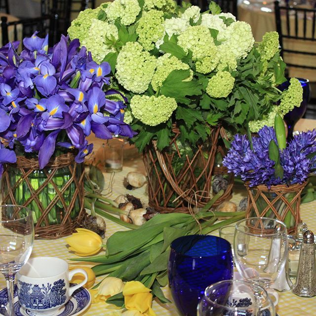 I Just Loved The Table Settings By @americangrownflowers For Last Nightu0027s  Event For The #