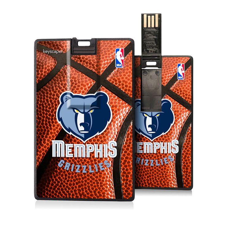 Memphis Grizzlies 8GB USB Basketball Credit Card Flash Drive - $19.99