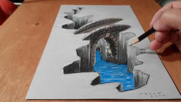 I decided to pin this,3-D drawing because of how awesome it looks. One question I have is how do they make 3-D drawings and how long does it take these artists to make a single 3-D drawing? ~Alfredo Ruiz #3ddrawings