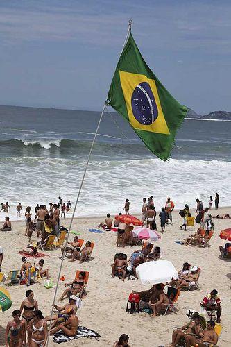 Copacabana beach, Rio de Janeiro, Brazil |