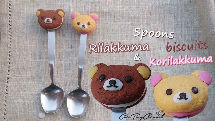 Spoons Rilakkuma and Korilakkuma Biscuits: Polymer Clay Tutorial