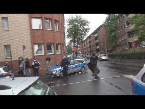 SEK überwältigt bewaffneten Mann in Köln-Kalk am 27.05.2014 + O-Ton Polizei-Pressesprecher - YouTube