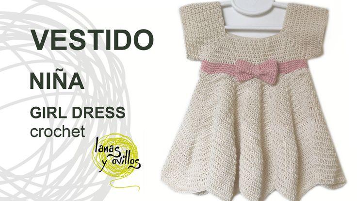 Tutorial de cómo hacer un vestido para niña adaptable a todas las edades paso a paso en español. Encuentra este patrón y muchos ...
